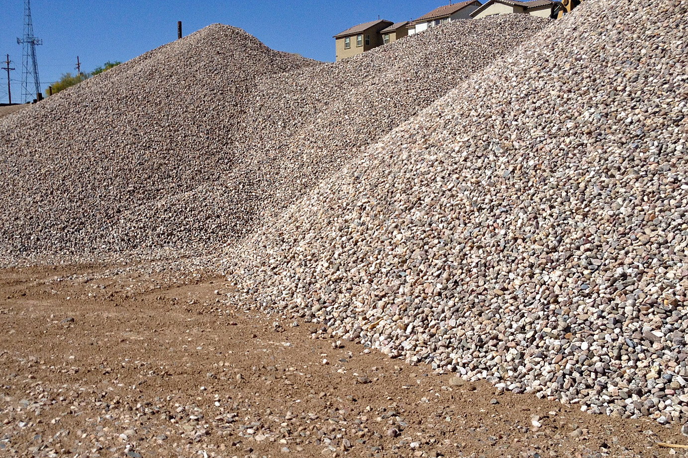 Crushed Rock Would Be Best For Building